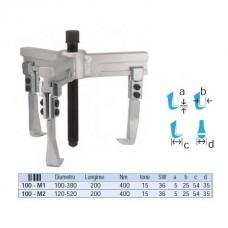 Extractor rulmenti universal cu 3 brate 100-380 mm