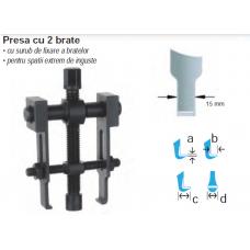 Extractor rulmenti cu 2 brate 0-60 mm