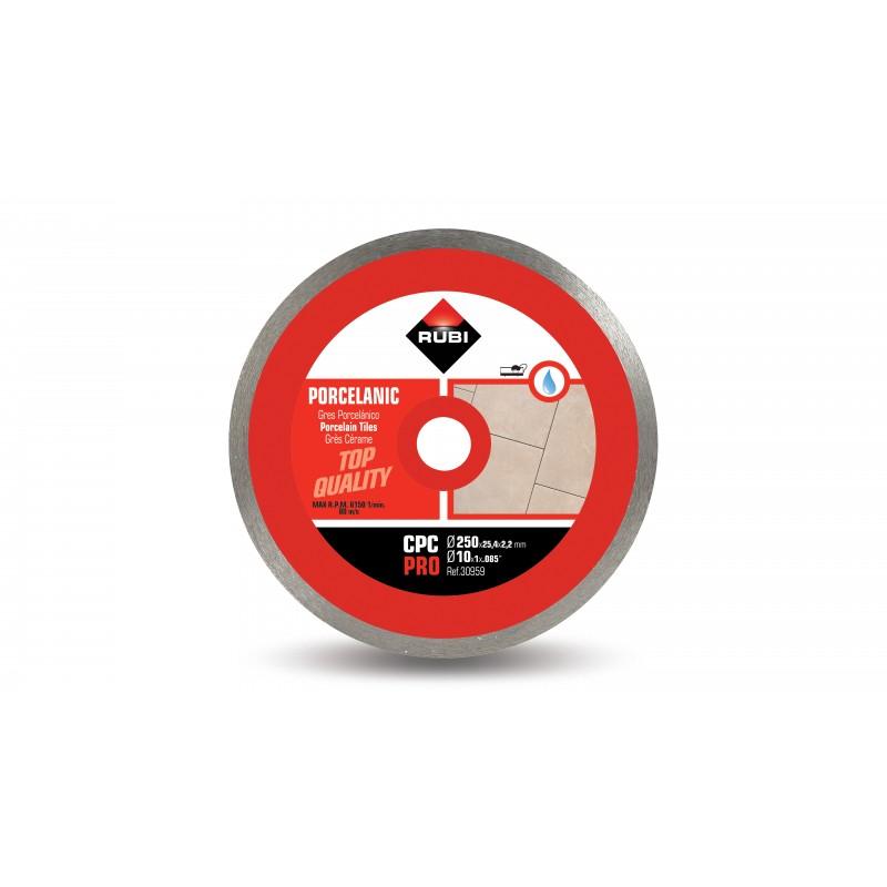 Disc diamantat continuu RUBI CPC 250 PRO