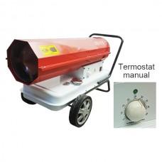 Generator mobil cu ardere directa cu compresor, termostat incorporat Calore D30T