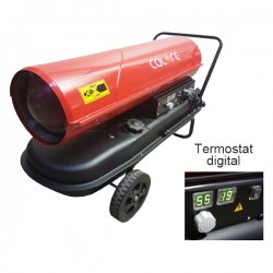 Generator mobil cu ardere directa cu compresor, termostat incorporat Calore D-50T
