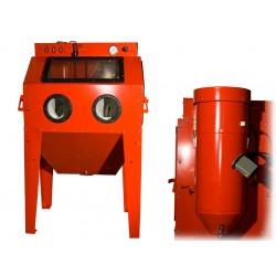 Dispozitiv pentru sablare cu aspirator, 350 L