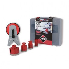 Kit 4 carote diamantate RUBI DRYGRES