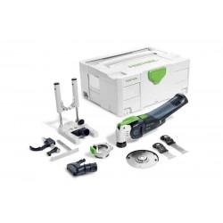 Oscilator multifunctional cu acumulator OSC 18 Li E-Basic Set VECTURO