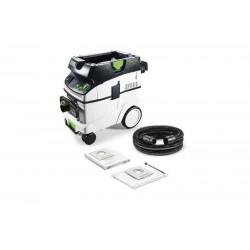 Aspirator mobil CLEANTEC CTL 36 E AC-LHS (Autocuratare)