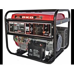 Generator de curent monofazat cu pornire electrica DAKARD LB 6000, 5.0 kW