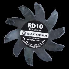 Freza Macroza RD-10 Premium compatibil cu masina de frezat M80, M95, SC200