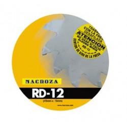 Freza Macroza RD-12 Premium compatibil cu masina de frezat M90, M95, SC300PRO