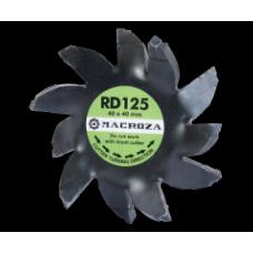 Freza Macroza RD-125 Premium compatibil cu masina de frezat M95, SC200
