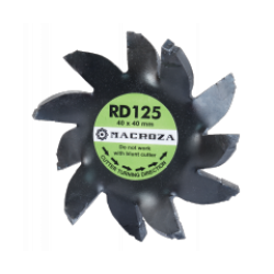 Freza Macroza RD-125 Premium compatibil cu masina de frezat M95, SC300PRO