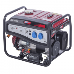 Generator de curent monofazat cu pornire la cheie, OMEGA OMG3500E, 3.5 kVA, 7 CP