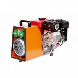 Convertizor cu motor termic STRONG T.838 S, motor Robin-Subaru 5CP, 2kVA, 2 prize